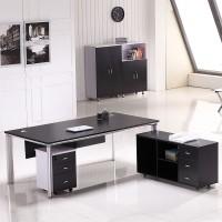 办公家具老板桌时尚简约总裁桌板式老板桌主管桌办公桌椅大班台