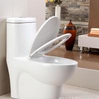 洁具连体坐便器节水静音缓降盖板陶瓷马桶虹吸式