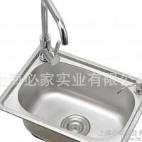 家庭洗菜水槽不锈钢5238上海现货水槽价格低
